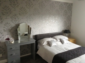 bedroom re-decorated